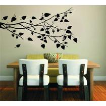 Adesivo Decorativo Parede Árvore Galho Floral Folhas Box