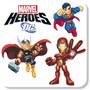 Adesivos Herois Crianças Liga Da Justiça E Marvel + Brindes