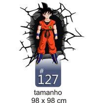 Adesivo De Parede Decorativo Goku Dragon Ball Z 127