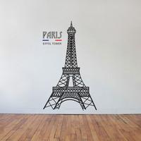 Adesivo Parede França Torre Eiffel Quarto Sala Decorativos
