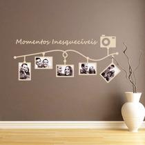 Adesivo Decorativo Porta Retratos - Momentos Inesquecíveis!