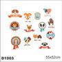 Adesivo D1003 Logo Pets Cachorro Gato Love Dog Cat