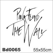 Adesivo Bd0065 Pink Floyd The Wall Rock Decoração Parede