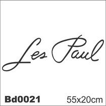 Adesivo Bd0021 Les Paul Guitarra Decoração Parede