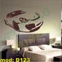 Adesivo Decorativo Mod D123 - Carro Esportivo Decoração