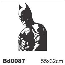 Adesivo Bd0087 Batman Morcego Filme Decoração Parede