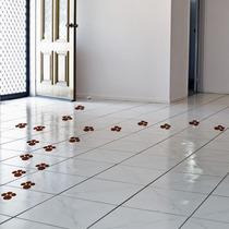 Adesivos Decorativos Patinhas Kit Com 72 Do Coelho Da Páscoa