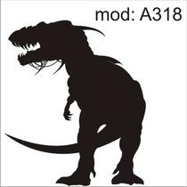 Adesivo A318 Desenho Abstrato Dinossauro Rex Animais