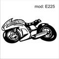 Adesivo E225 Velocidade Motocicleta Corrida Esporte Moto