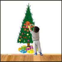 Adesivo Decorativo Árvore De Natal Para Montar Faça Vc Mesmo