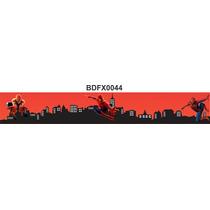 Adesivo Bdfx0044 Homem-aranha Border Faixa Decorativa