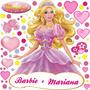 Adesivo Princesas Barbie Marie Sininho Ben10 Marvel E Outros