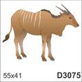 Adesivo D3075 Cabra Carneiro Cabrito Xifres Animal De Parede