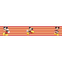 Adesivo Bdfx9010 Mickey Mouse Border Faixa Decorativa Bebê