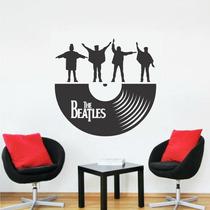 Adesivo Decorativo De Parede Lp Disco The Beatles Help
