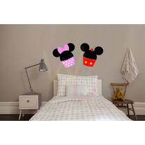 Adesivos Decorativos (cupcake Mickey E Minnie)