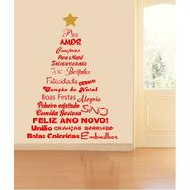 Adesivo Decorativo Natal Iluminado(100x140)cm - Frete Gratis
