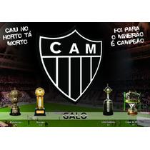 Banner Ou Painel Adesivo Atlético Mineiro