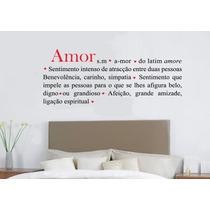 Adesivo Decorativo Romântico Amor (238x95)cm - Frete Gratis