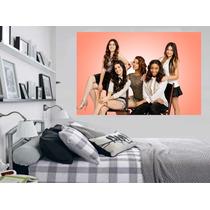 Adesivo Decoração Parede Música Foto Grupo Fifth Harmony