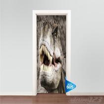 Adesivo 123 Porta Dinossauro Mod 605