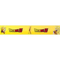 Adesivo Faixa Dragon Ball Z Vedita Quarto Menino Bdfx0144