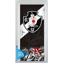 Adesivo 123 Porta Futebol Vasco Corinthians Santos