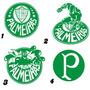 Adesivo Escudos Time Palmeiras Símbolos Em Vinil