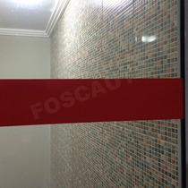 Adesivo Faixa P/ Sinalização De Portas Vidro, Anti Trombada