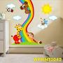 Adesivos Kit Bebê Ursinho Carinho Corações Patinho Wpt52
