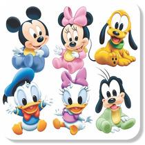 Adesivo Parede Infantil Mickey Donald Pateta Disney Baby