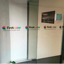 Faixa Impressa P/ Sinalização De Porta, Vidro, Anti Trombada
