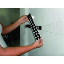 100 Unidades De Adesivo Pastilhas Para Azulejos Parede Faixa