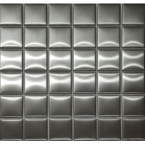 Pastilha De Inox 5x5cm Escovado 30x30cm