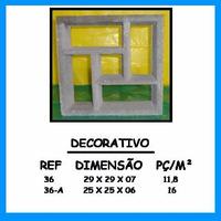 Elemento Vazado De Concreto Decorativo, Cobogó De Concreto