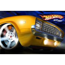 Painel Decorativo Festa Infantil Carros Hot Wheels (mod2)