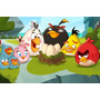Painel Decorativo Festa Infantil Angry Birds (mod3)