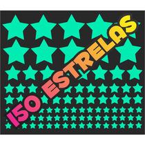 Kit 150 Estrelas Que Brilham No Escuro! Starfix
