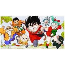 Painel Decorativo Festa Dragon Ball Z Goku [2x1m] (mod4)