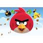 Painel Decorativo Festa Infantil Angry Birds (mod4)