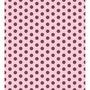 Papel Adesivo Contact Petit Poa Rosa Marrom 45 Cm X 10m