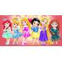 Painel Decorativo Festa Princesas Baby Kids [2x1m] (mod9)