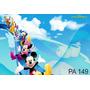 Painel Para Festas. Lona Banner Turma Do Mickey