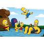 Painel Decorativo Festa Aniversário Os Simpsons (mod4)
