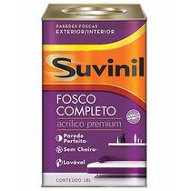 Tinta Suvinil Fosco Completo Acrilico Premium 18 Litros Bran