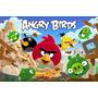 Painel Decorativo Festa Infantil Angry Birds (mod1)