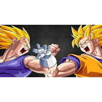 Painel Decorativo Festa Dragon Ball Z Goku [2x1m] (mod2)