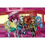 Painel Decorativo Festa Infantil Monster High (mod1)