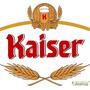 Adesivo Cerveja Kaiser Recorte # 14 (20 Cm Na Parte Maior)