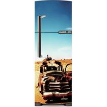 Adesivo Geladeira Carro Velho # 22 (porta Inverse)